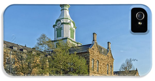 Insanity iPhone 5 Cases - The Old Trans - Allegheny Lunatic Asylum  iPhone 5 Case by Mountain Dreams