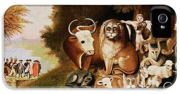 The Peaceable Kingdom IPhone 5 / 5s Case by Edward Hicks