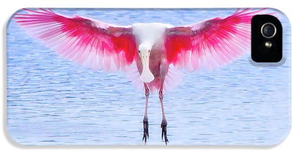 The Pink Angel IPhone 5 / 5s Case by Mark Andrew Thomas