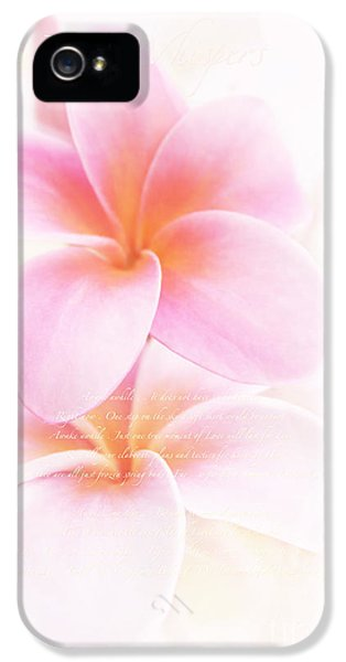 The Poet Whispers IPhone 5 / 5s Case by Sharon Mau