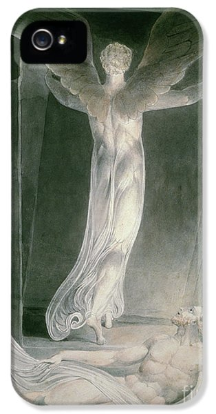 Angelic iPhone 5 Cases - The Resurrection iPhone 5 Case by William Blake