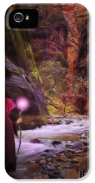 The Road Less Traveled IPhone 5 / 5s Case by John Edwards