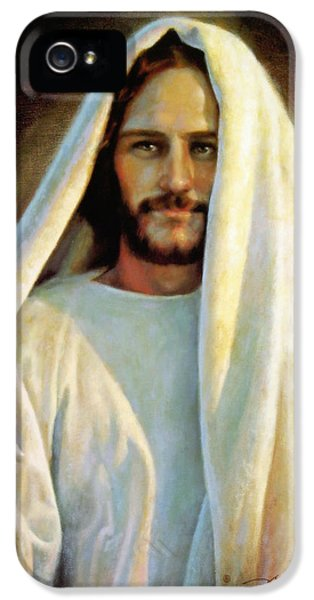 Jesus Christ iPhone 5 Cases - The Savior iPhone 5 Case by Greg Olsen