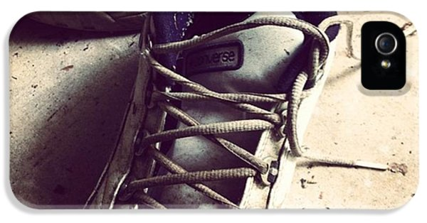 The Shoes He Left Behind IPhone 5 / 5s Case by Dana Coplin