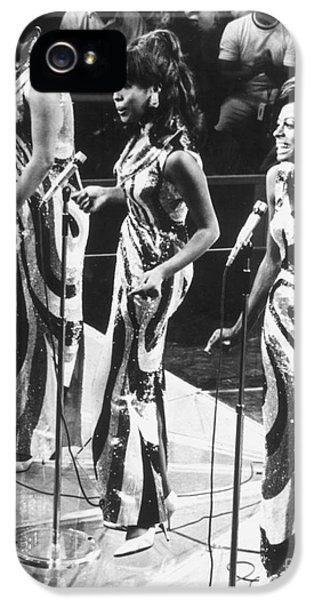 Trio iPhone 5 Cases - THE SUPREMES, c1963 iPhone 5 Case by Granger