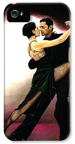 Spotlight iPhone 5 Cases - The Temptation of Tango iPhone 5 Case by Richard Young