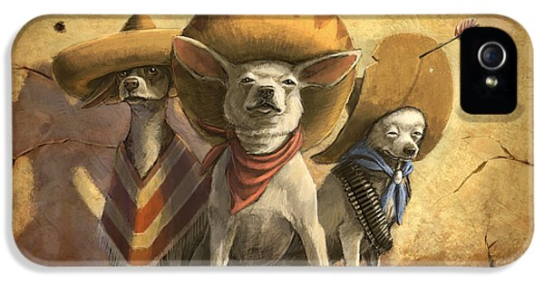The Three Banditos IPhone 5 / 5s Case by Sean ODaniels