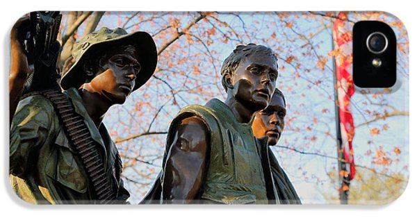 The Three Soldiers IPhone 5 / 5s Case by Mitch Cat
