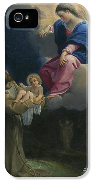 The Vision Of Saint Francis IPhone 5 / 5s Case by Lodovico Carracci