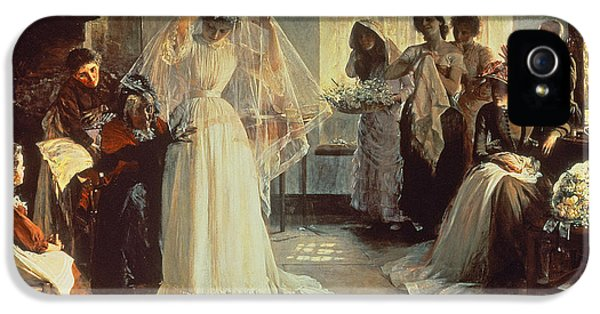 The Wedding Morning IPhone 5 / 5s Case by John Henry Frederick Bacon