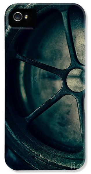Clock iPhone 5 Cases - The Witching Hour iPhone 5 Case by Edward Fielding