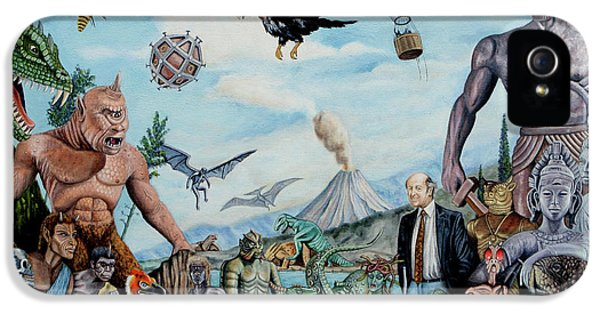 The World Of Ray Harryhausen IPhone 5 / 5s Case by Tony Banos