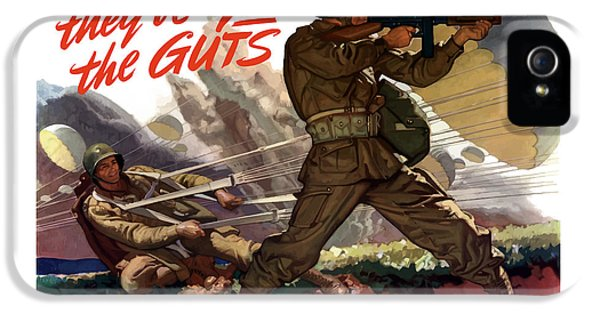 They've Got The Guts IPhone 5 / 5s Case by War Is Hell Store