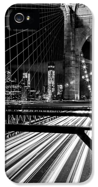Taxi iPhone 5 Cases - Through The Manhattan Archways iPhone 5 Case by Az Jackson