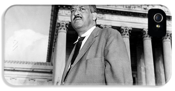 Thurgood Marshall IPhone 5 / 5s Case by Granger