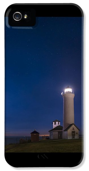 Tibbets Point Light Night IPhone 5 / 5s Case by Mark Papke
