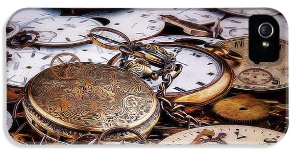 Time Pieces IPhone 5 / 5s Case by Tom Mc Nemar