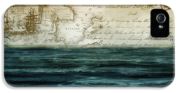 Indian Ocean iPhone 5 Cases - Timeless Voyage II iPhone 5 Case by Mindy Sommers