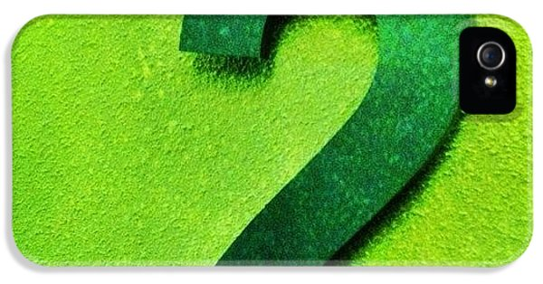 Today It Is #emerald For #altexpo. So IPhone 5 / 5s Case by Merel Kaagman
