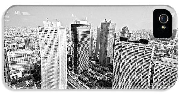 Tokyo Skyline IPhone 5 / 5s Case by Pravine Chester