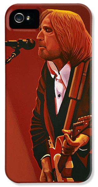 Spotlight iPhone 5 Cases - Tom Petty iPhone 5 Case by Paul Meijering