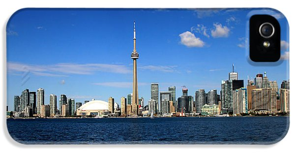 Toronto Skyline 26 IPhone 5 / 5s Case by Andrew Fare