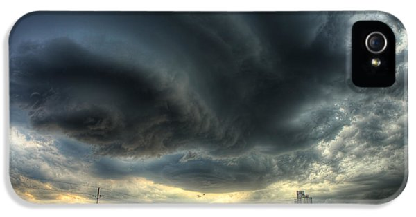 Storm Clouds iPhone 5 Cases - Toulon Turmoil iPhone 5 Case by Thomas Zimmerman