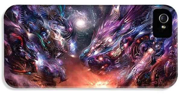 Sci Fi Art iPhone 5 Cases - Trado ut Admiratio iPhone 5 Case by Alex Ruiz