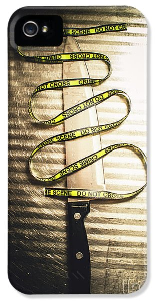 Trail Of Clues IPhone 5 / 5s Case by Jorgo Photography - Wall Art Gallery