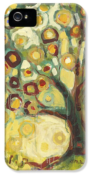 Trees iPhone 5 Cases - Tree of Life in Autumn iPhone 5 Case by Jennifer Lommers
