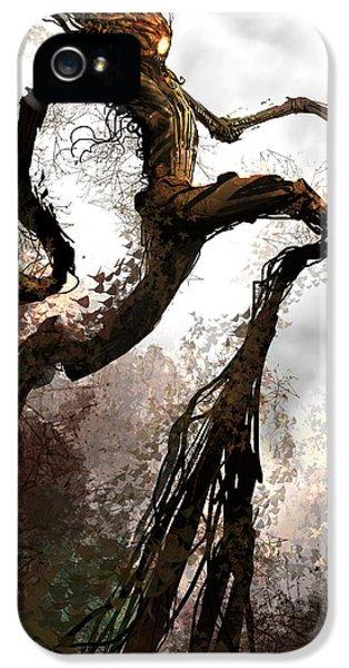 Concepts iPhone 5 Cases - Treeman iPhone 5 Case by Alex Ruiz