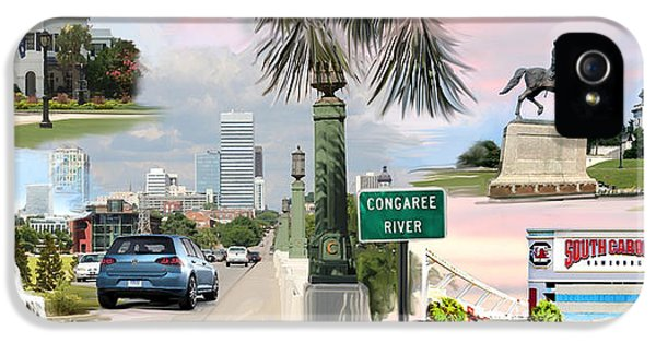Tribute To Columbia Sc IPhone 5 / 5s Case by Greg Joens
