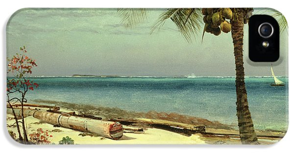 Tropical Coast IPhone 5 / 5s Case by Albert Bierstadt