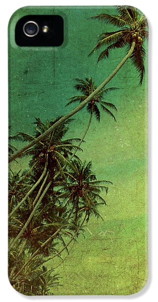 Hut iPhone 5 Cases - Tropical Vestige iPhone 5 Case by Andrew Paranavitana