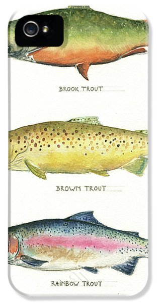 Trout Species IPhone 5 / 5s Case by Juan Bosco