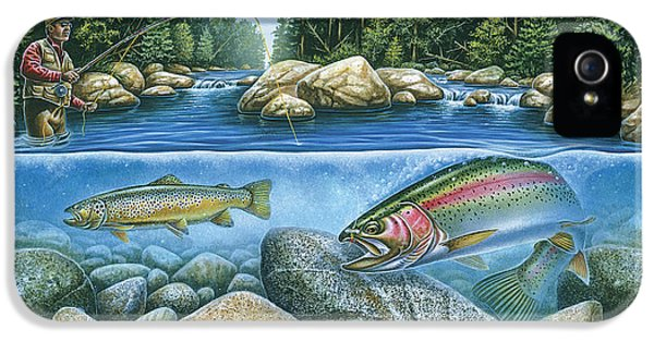 Trout View IPhone 5 / 5s Case by JQ Licensing