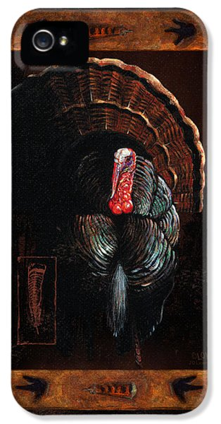 Hunting iPhone 5 Cases - Turkey Lodge iPhone 5 Case by JQ Licensing