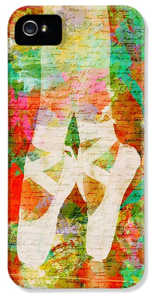 Dance iPhone 5 Cases - Twinkle Toes iPhone 5 Case by Nikki Marie Smith