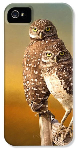 Two Of Us IPhone 5 / 5s Case by Kim Hojnacki