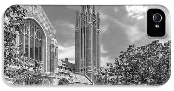 Il iPhone 5 Cases - University of Chicago Saieh Hall for Economics iPhone 5 Case by University Icons