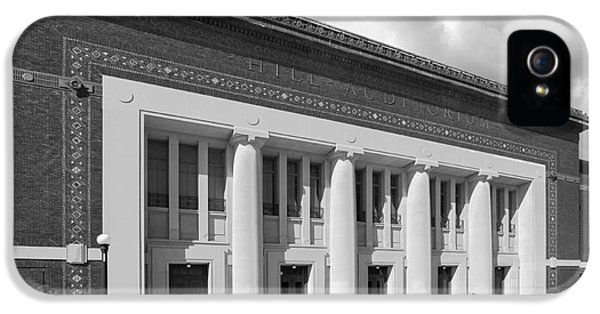 University Of Michigan Hill Auditorium IPhone 5 / 5s Case by University Icons