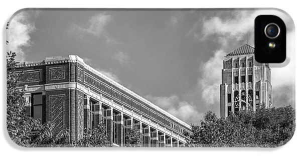 University Of Michigan Natural Sciences Building With Burton Tower IPhone 5 / 5s Case by University Icons