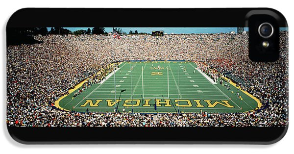 University Of Michigan Stadium, Ann IPhone 5 / 5s Case by Panoramic Images