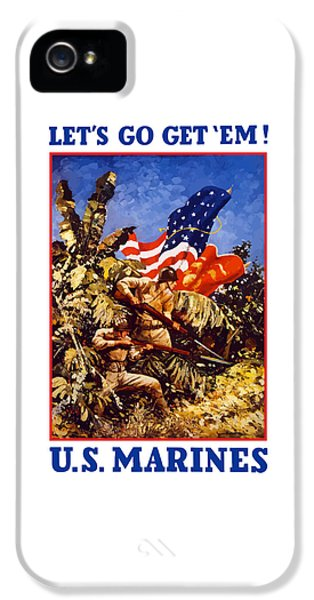 Marine Corps iPhone 5 Cases - US Marines - WW2  iPhone 5 Case by War Is Hell Store