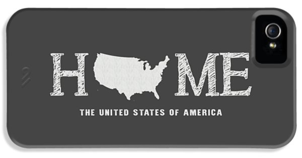 Usa Home IPhone 5 / 5s Case by Nancy Ingersoll