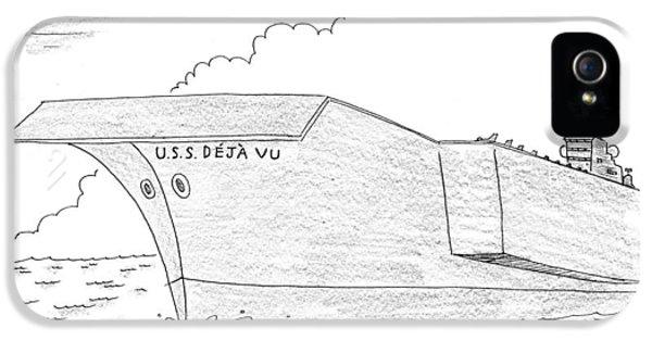 U.s.s. Deja Vu IPhone 5 / 5s Case by Mick Stevens
