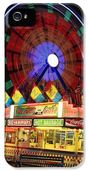 Vacant Carnival Bench IPhone 5 / 5s Case by James BO  Insogna