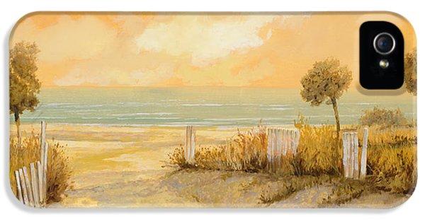 Verso La Spiaggia IPhone 5 / 5s Case by Guido Borelli