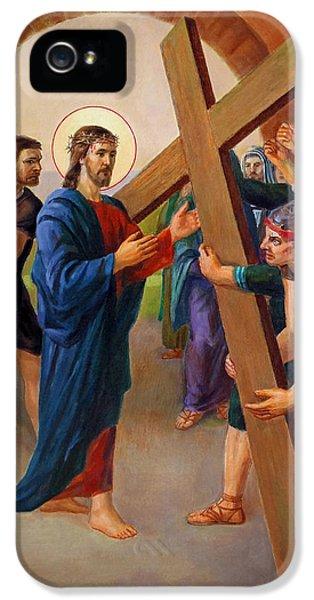 Via Dolorosa - Jesus Takes Up His Cross - 2 IPhone 5 / 5s Case by Svitozar Nenyuk