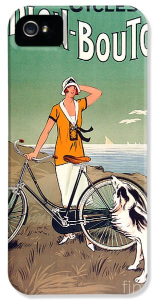 Vintage Bicycle Advertising IPhone 5 / 5s Case by Mindy Sommers